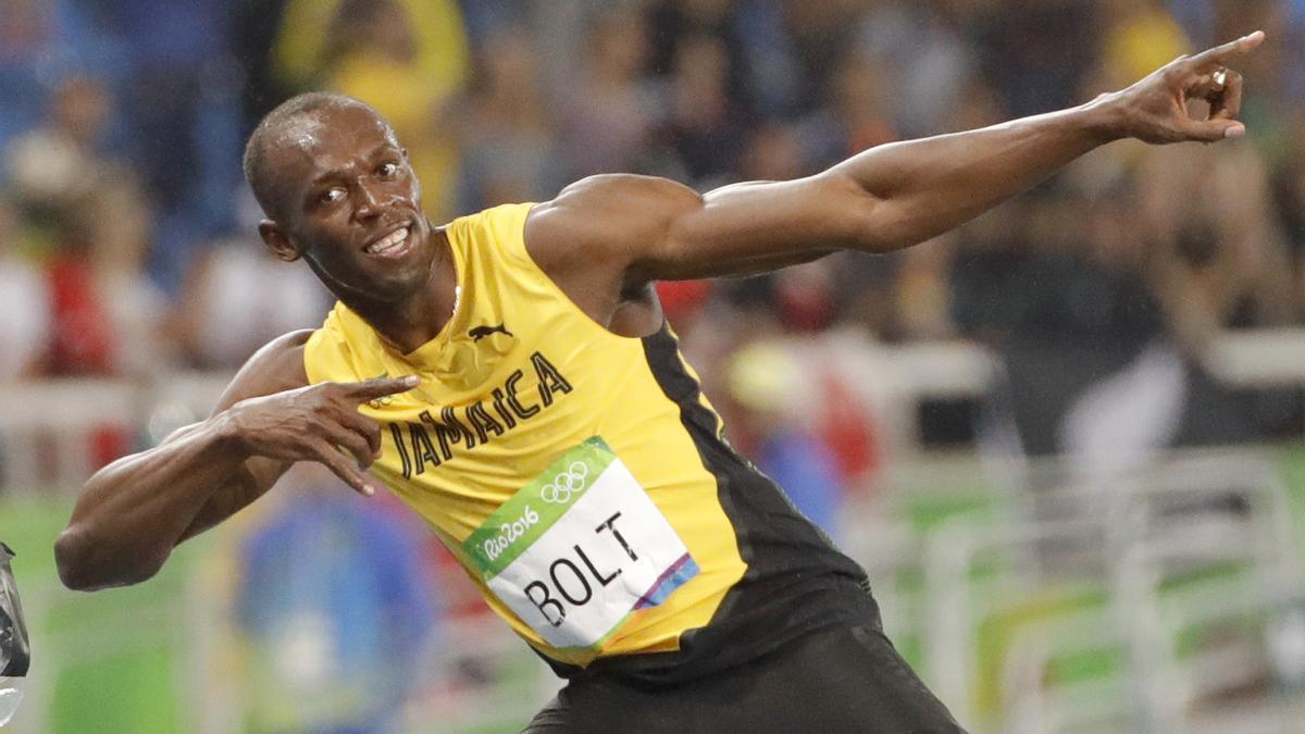 Usain Bolt en los Juegos Olímpicos de 2016.