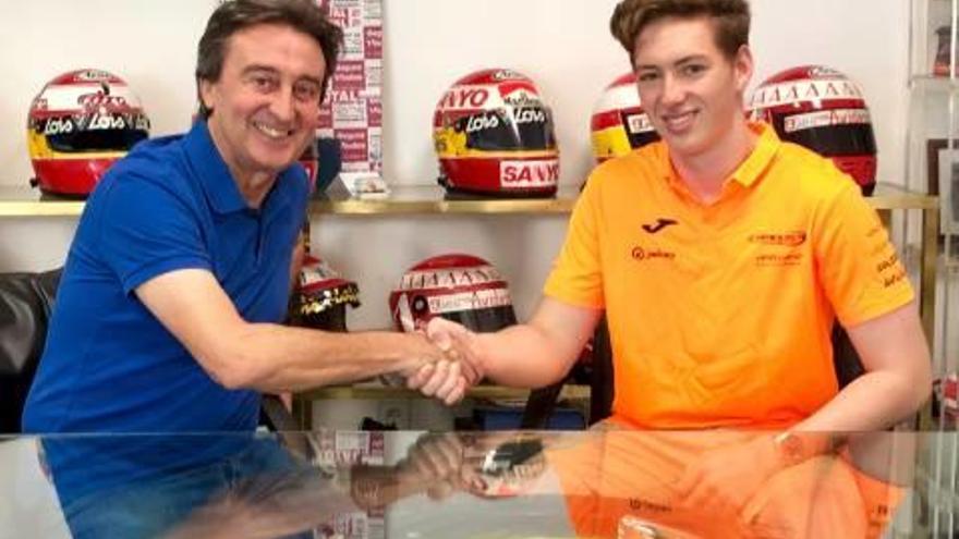 La alcireña Campos Racing se hace con los servicios del joven sobrino  de Michael Schumacher