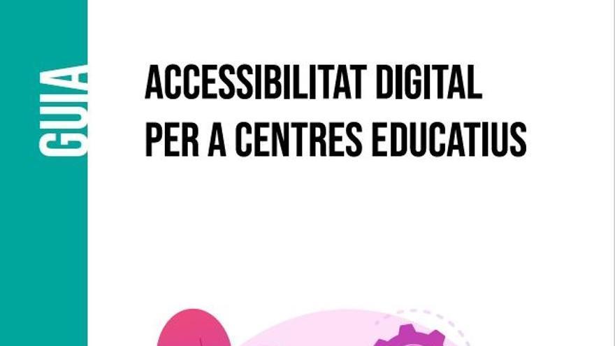 Educación crea una guía para que los docentes elaboren contenidos digitales accesibles para todo el alumnado