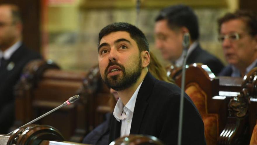 Renuncia el concejal de Marea Atlántica Xiao Varela