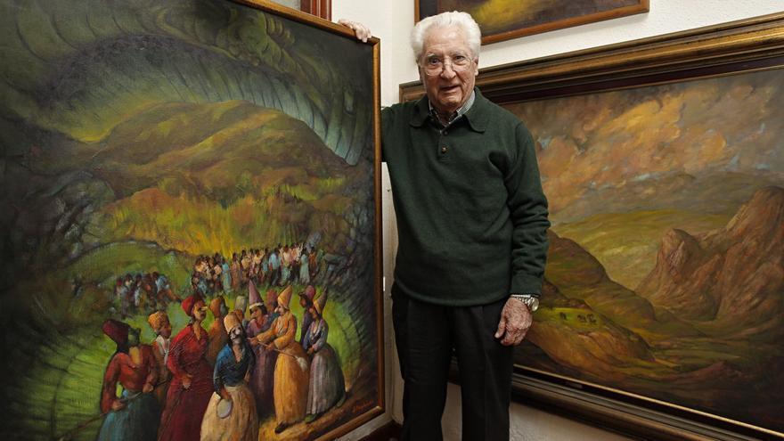 Fallece a los 94 años el afamado pintor Julio Magdalena, maestro de su generación