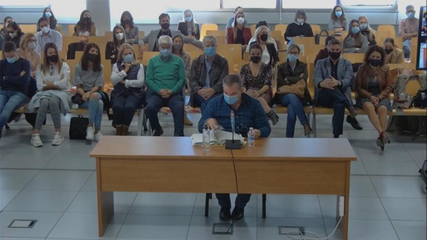 Juicio del Caso Maje: Cartas del acusado a Maje dentro de prisión