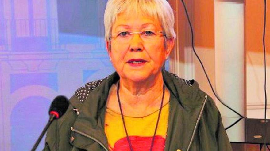 Carmen Álvarez, concejala de Igualdad del Ayuntamiento de Zamora. | J. L. Fernández
