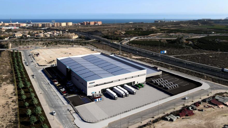 Amazon desembarca en Alicante con una estación logística de 8.000 metros