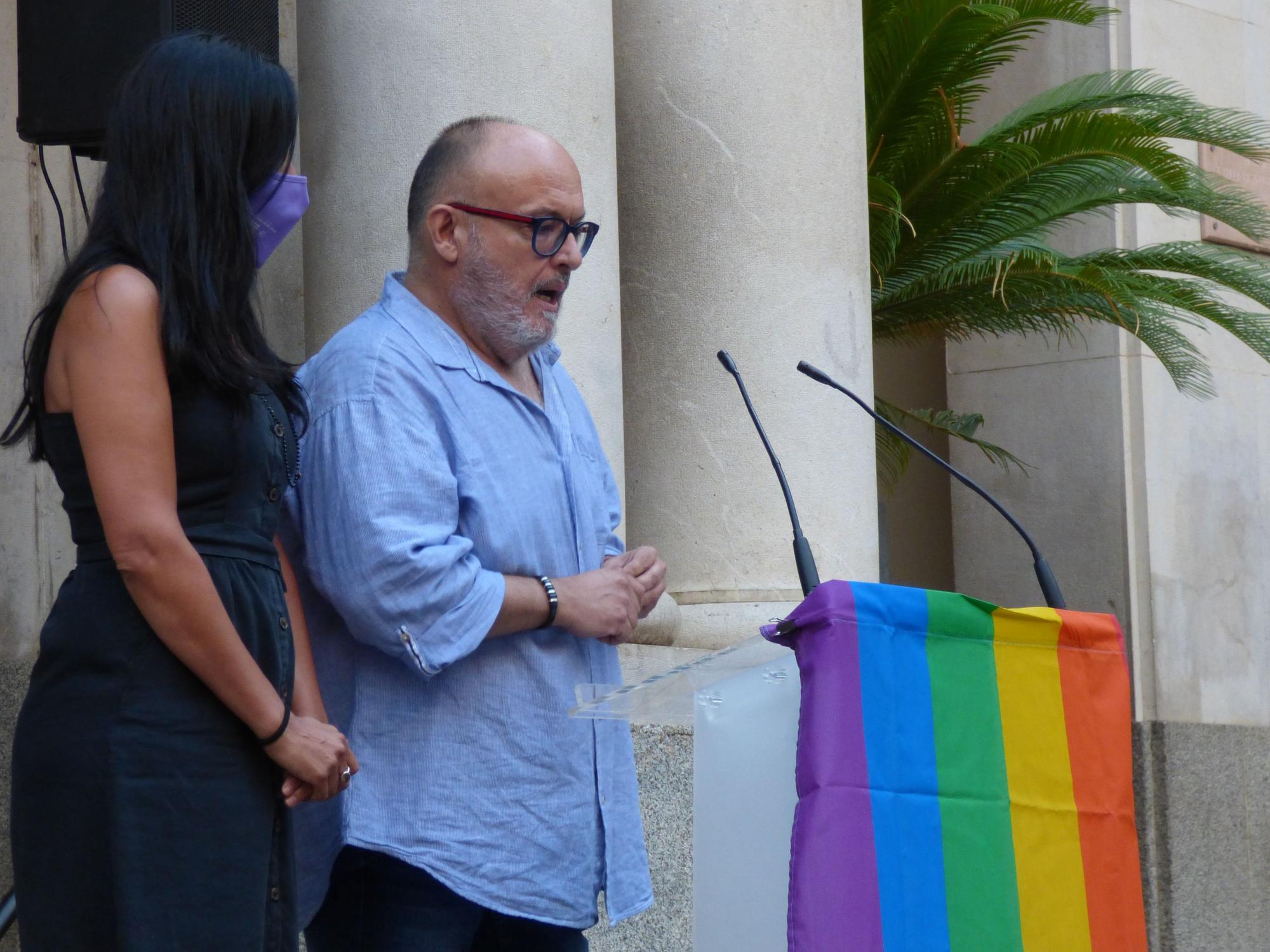 Concentració #justíciaperaSamuel a Figueres