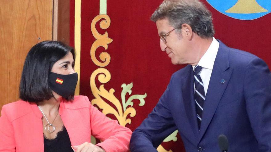 Feijóo es investido presidente de la Xunta llamando a la moderación y la estabilidad