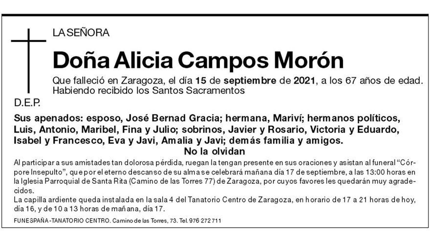 Alicia Campos Morón
