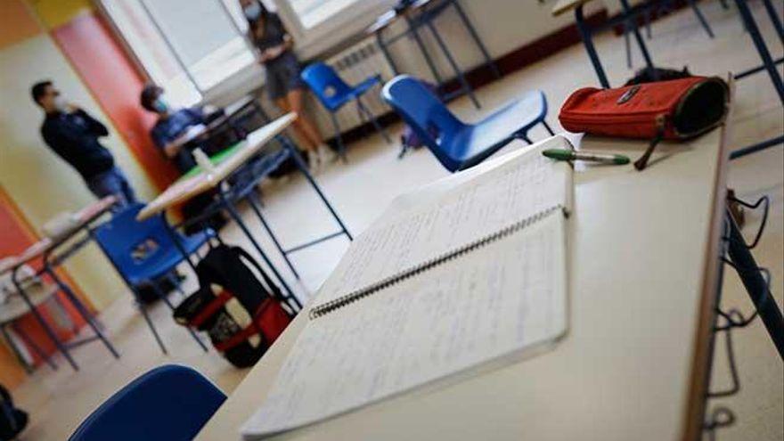 61 grupos escolares en cuarentena, la cifra más alta en una semana