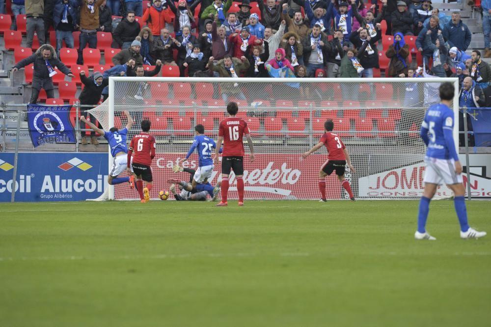 Mirandés - Oviedo, en imágenes