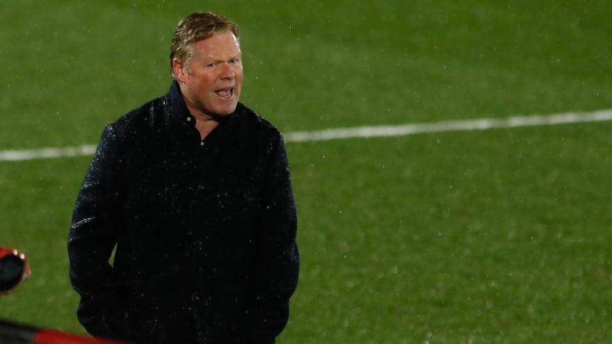 Koeman: «Hi ha coses més importants que les amenaces de la UEFA»