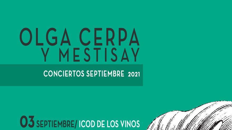 Concierto de Olga Cerpa y Mestisay