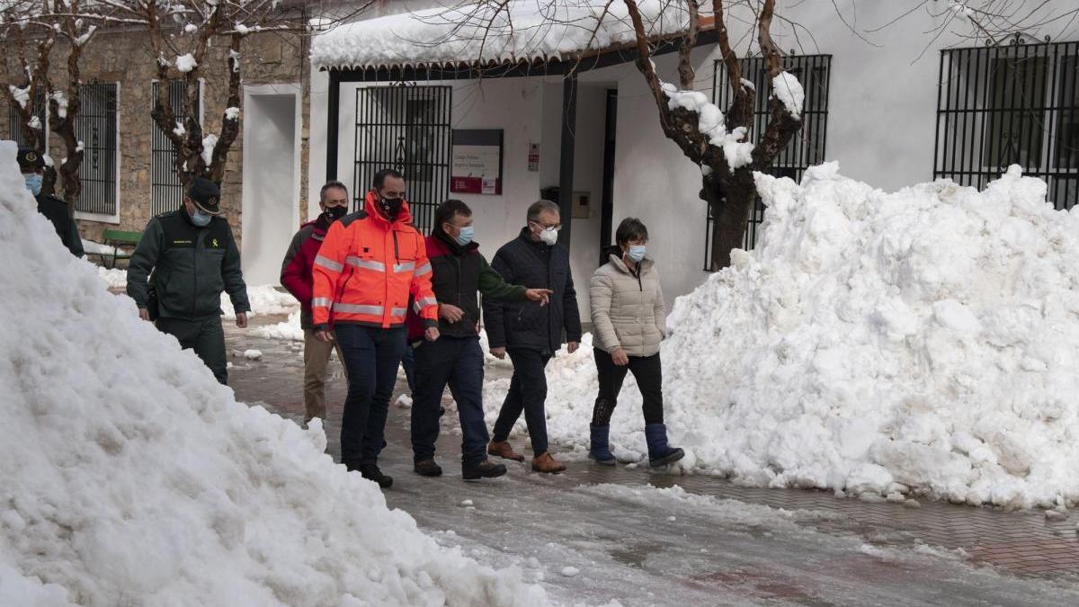 Los bomberos destinan más de 360.000 euros a los 11 días de trabajos por la borrasca Filomena en Castellón