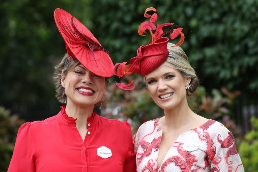 18/06/2019. Ascot, United Kingdom: Kate ...