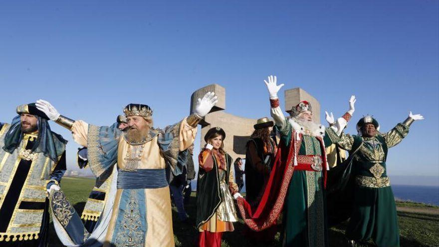 Los Reyes Magos recorrerán todos los barrios y parroquias de Gijón el 5 de enero