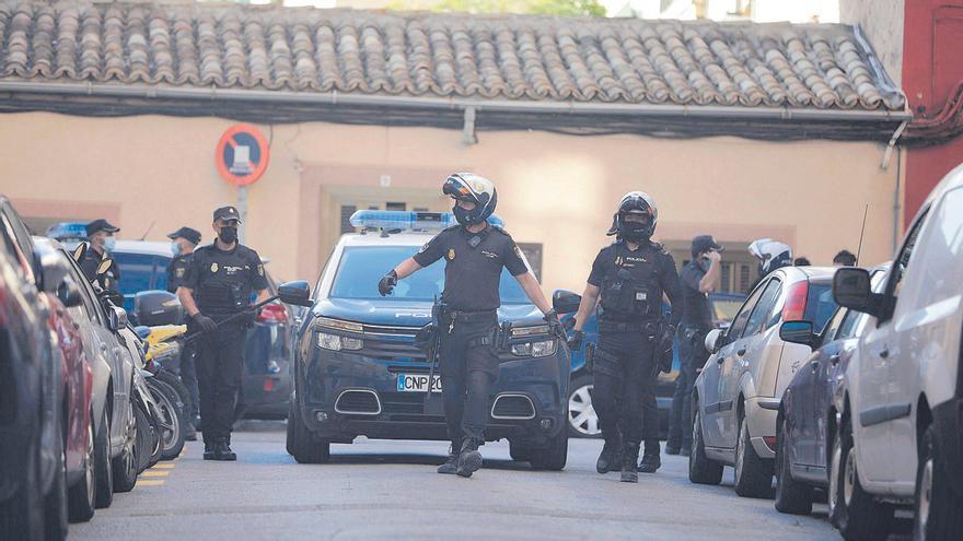 Un herido grave en un tiroteo entre clanes de delincuentes en Mallorca