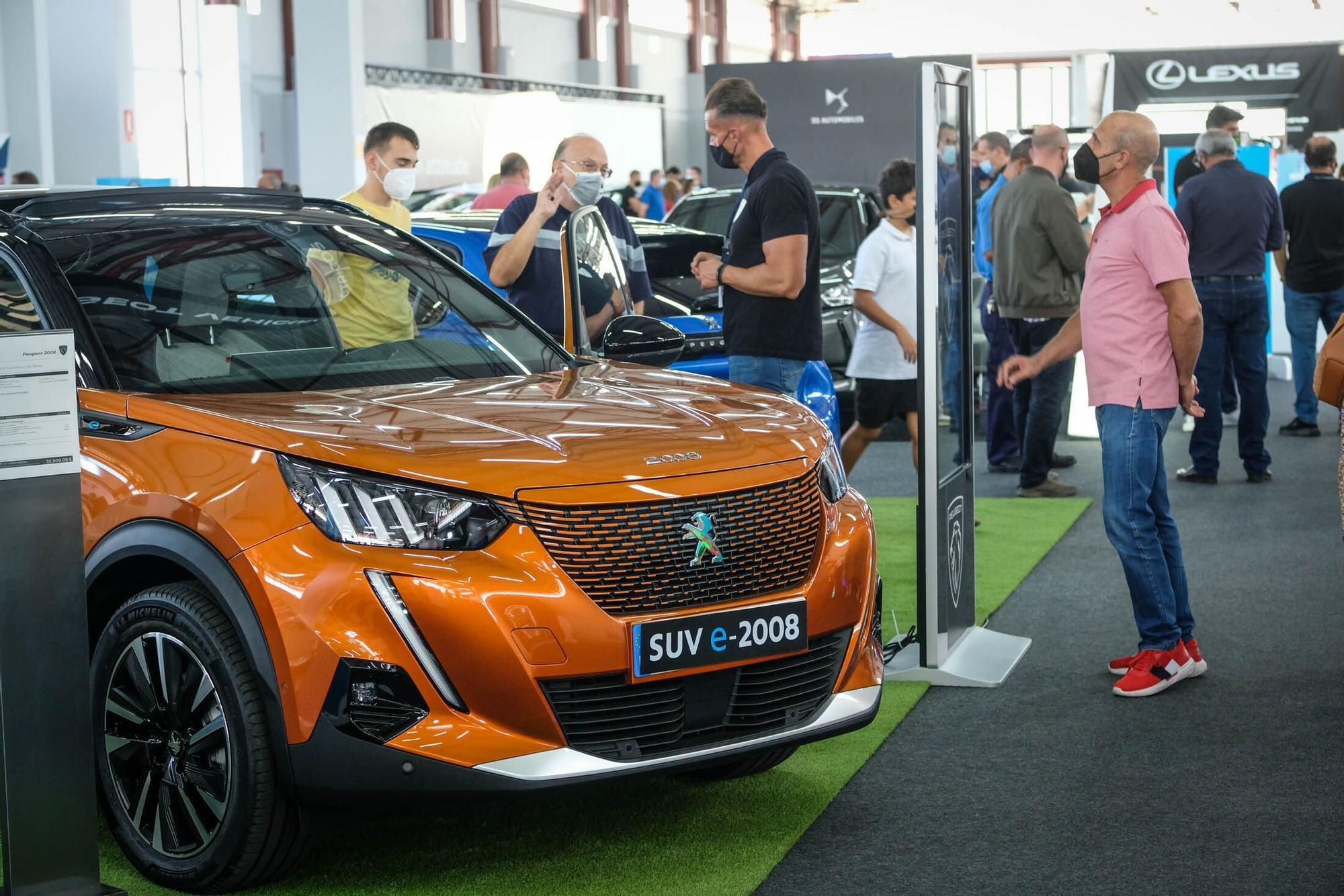 Feria del coche eléctrico en Infecar
