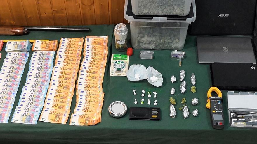 Desmantelado un activo punto de producción y venta de drogas en Calasparra