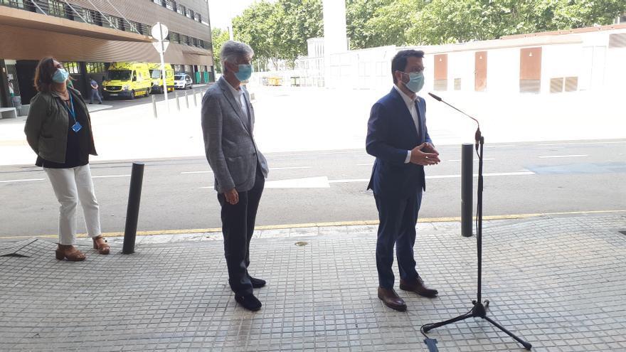 Un fallo en la web de la vacunación de Cataluña dejó al descubierto datos personales de los ciudadanos