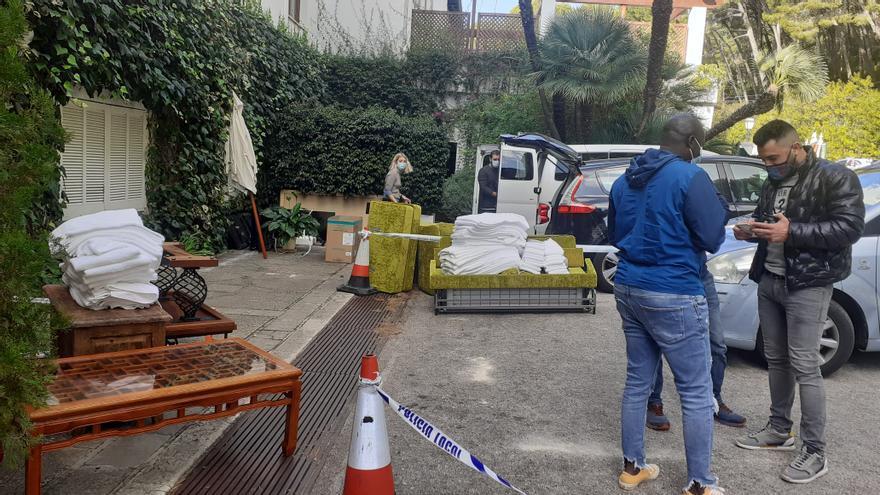 El hotel Formentor vende todos sus enseres a precio de ganga