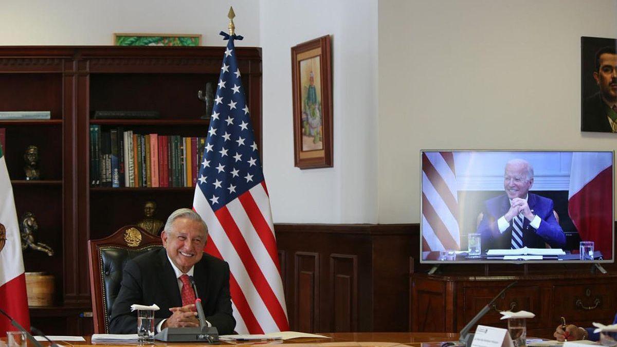 Biden y López Obrador acercan posturas en una primera reunión cordial