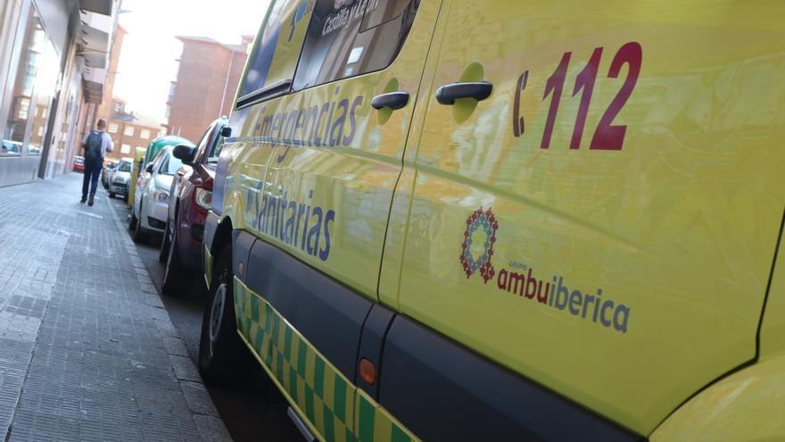 Un hombre de 50 años herido tras salirse de la vía en Villoria (Salamanca)