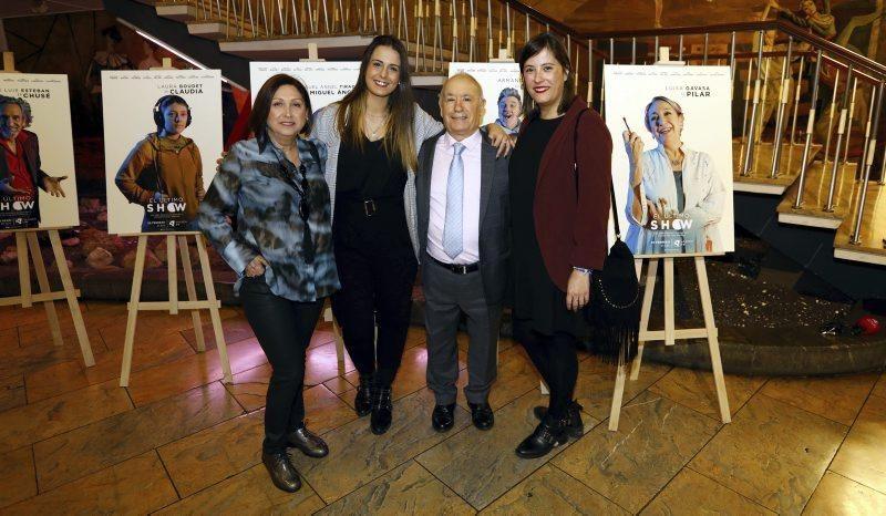 Preestreno de la serie de Aragón TV, 'El último show'