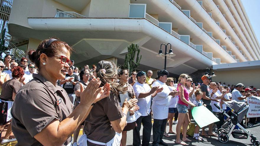 El Cabildo cree que el Estado vulnera las competencias sobre el caso Oliva Beach