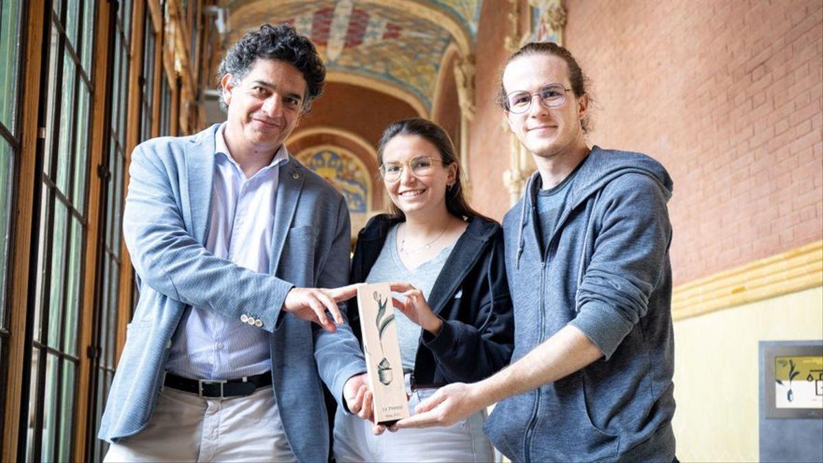 Equip de The Predictive Company, amb Romero a l'esquerra