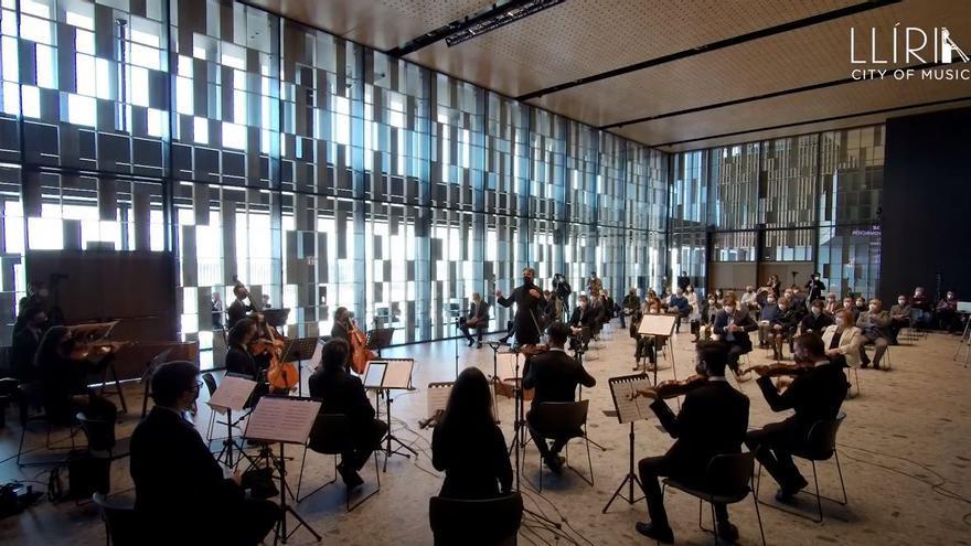 Llíria inaugura con un concierto el auditorio Abelardo Salvo Babiloni en la sede de Power Electronics