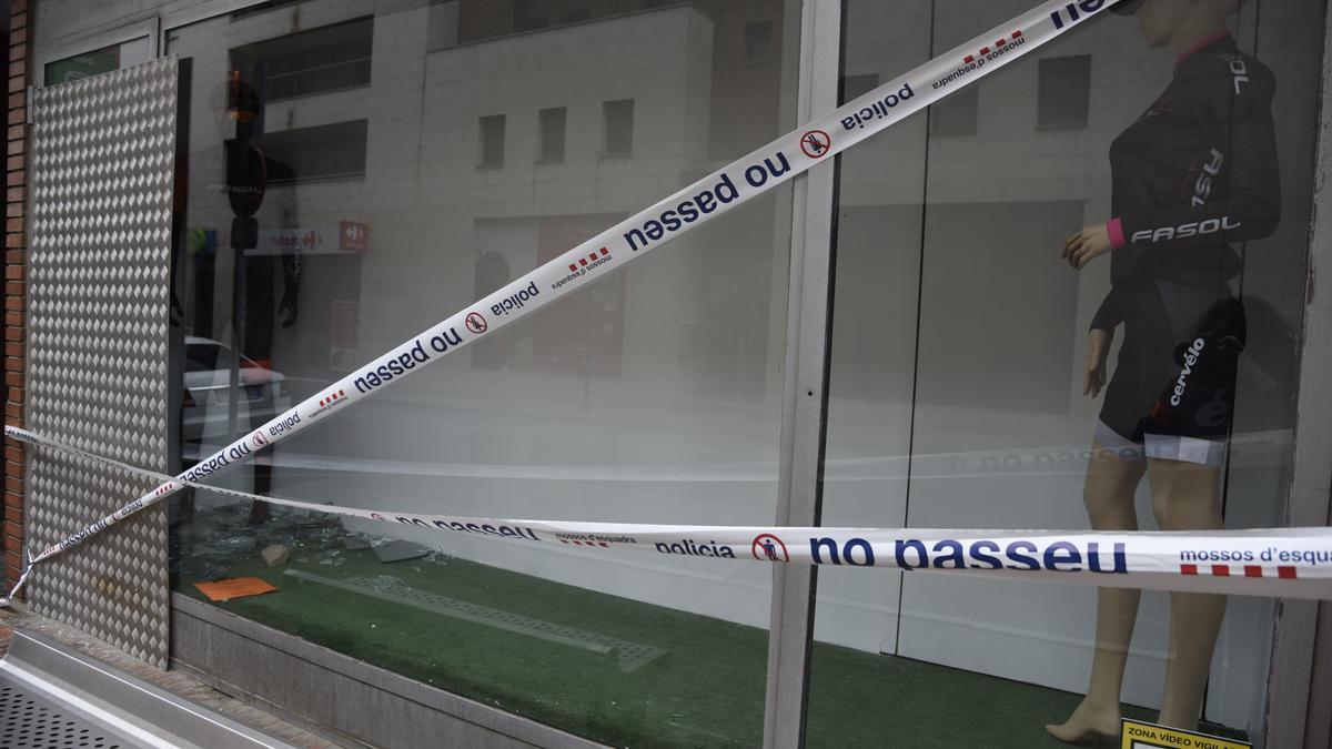 Intent de robatori a la botiga de bicicletes  FASOL l'any passat