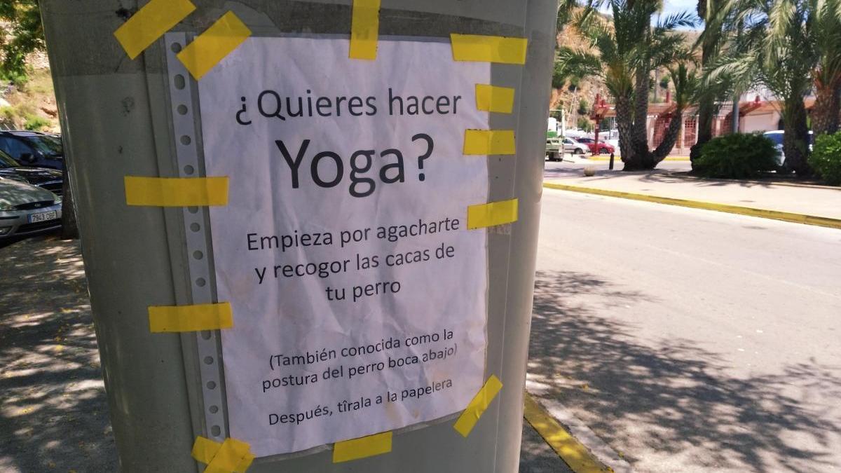 """""""¿Yoga? Primero agachate a recoger las cacas de tu perro"""""""