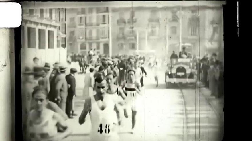 El valioso vídeo de la Volta a Peu que organizó El Mercantil Valenciano en 1929