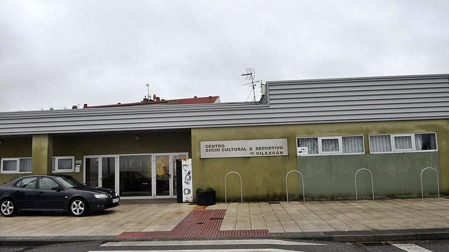 La obra del centro sociocultural de Vilaxoán, parada hasta resolver el trámite con Portos