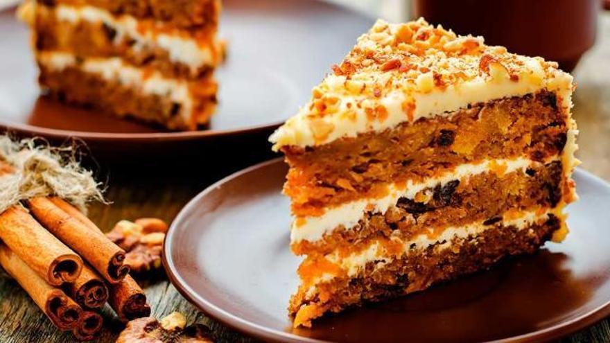 Prepara en tan solo tres minutos esta deliciosa tarta de zanahoria