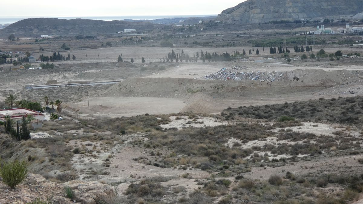 Image of the landfill provided by Compromís