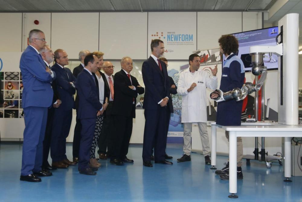 Felipe VI preside la celebración del 50 aniversario de Aimen