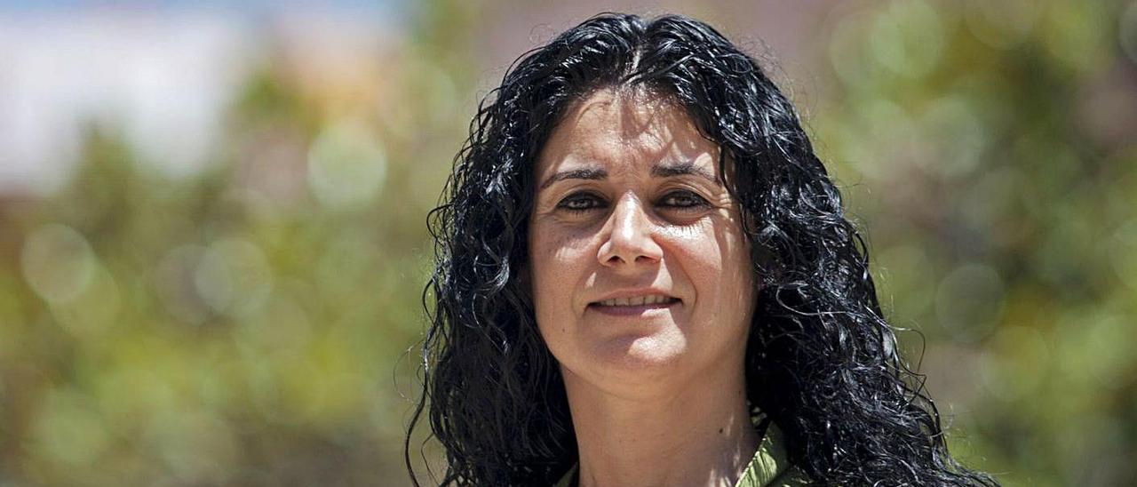 La secretaria general de CC OO -PV, Ana García Alcolea.    GERMÁN CABALLERO