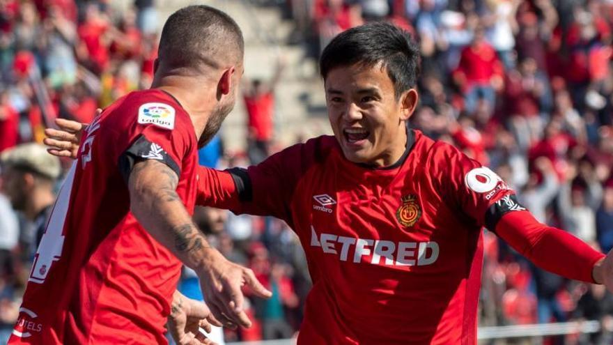 El Mallorca gana la primera final por la permanencia