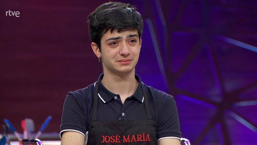 Las redes se vuelcan con la expulsión de José María, el aspirante extremeño de Masterchef