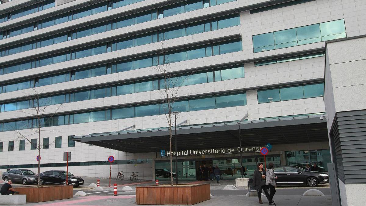 Hospital Universitario de Ourense. // Iñaki Abella