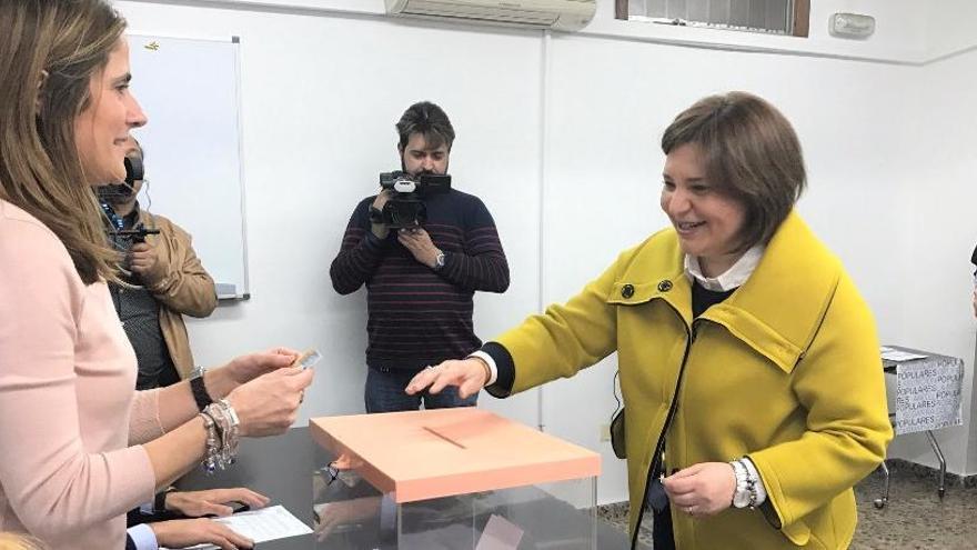 Bonig, candidata a presidir el PPCV con el 97,4% de los votos