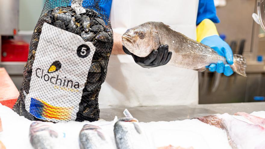 Tiempo de clóchinas en el Mercado Central: 33 puestos reciben el verano con mariscos y pescados de temporada