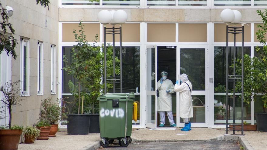 Crecen los brotes en residencias de Ourense: 45 nuevos contagios en Pereiro de Aguiar y 20 en Monterrei