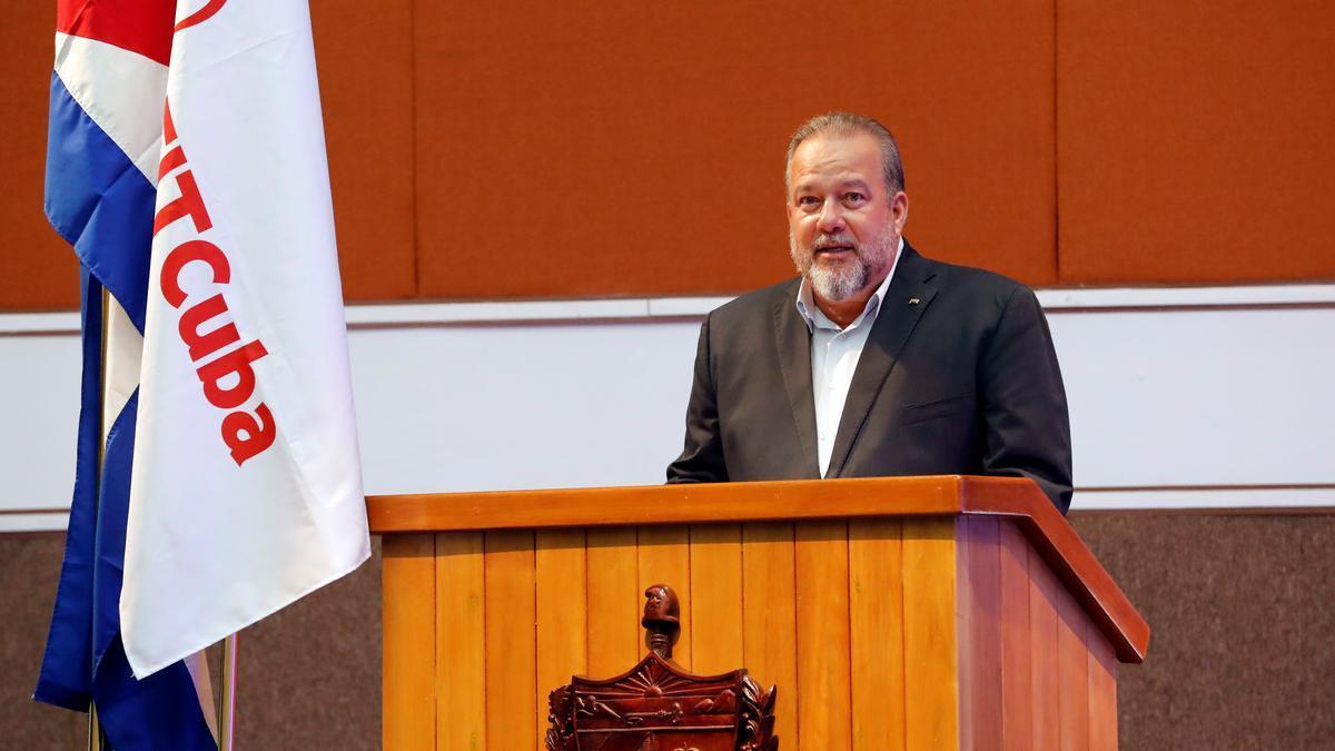 El primer ministro cubano Manuel Marrero.