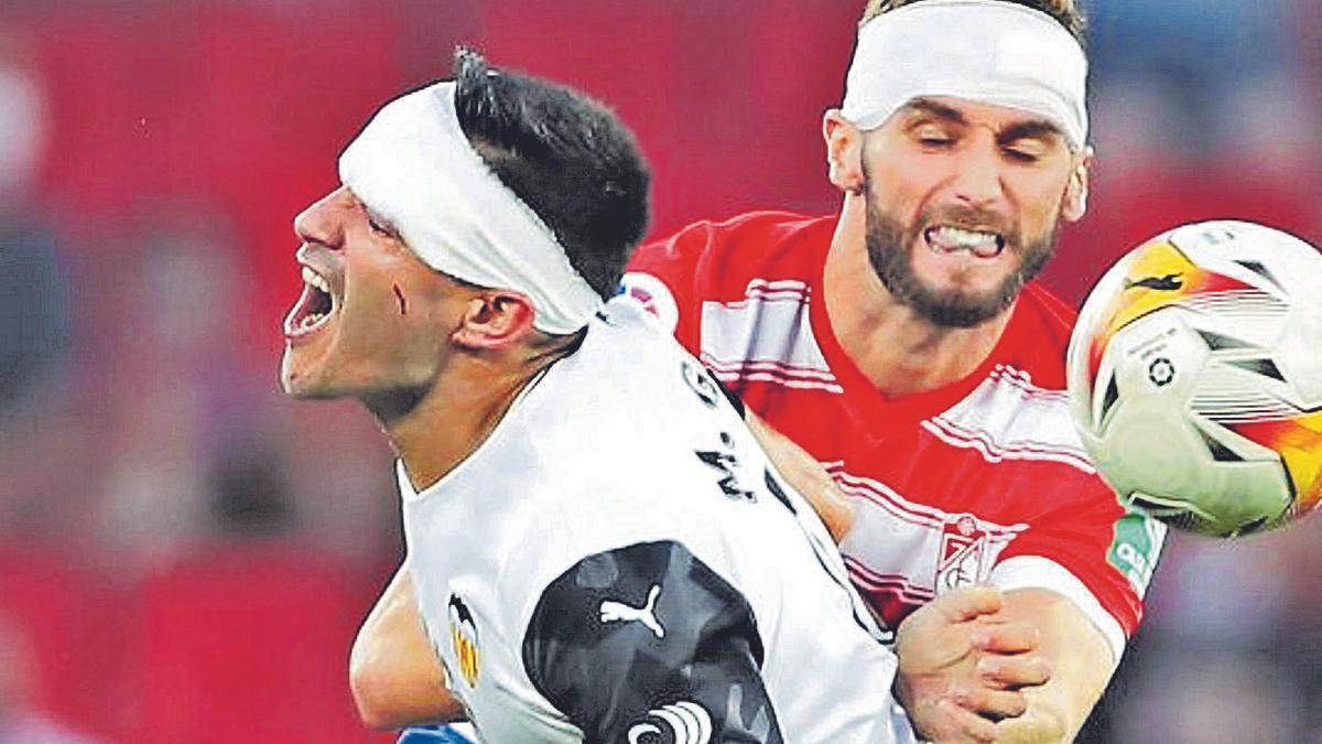 En el primer desplazamiento de esta temporada se conquistó un empate en Granada | APF/EUROPA PRESS
