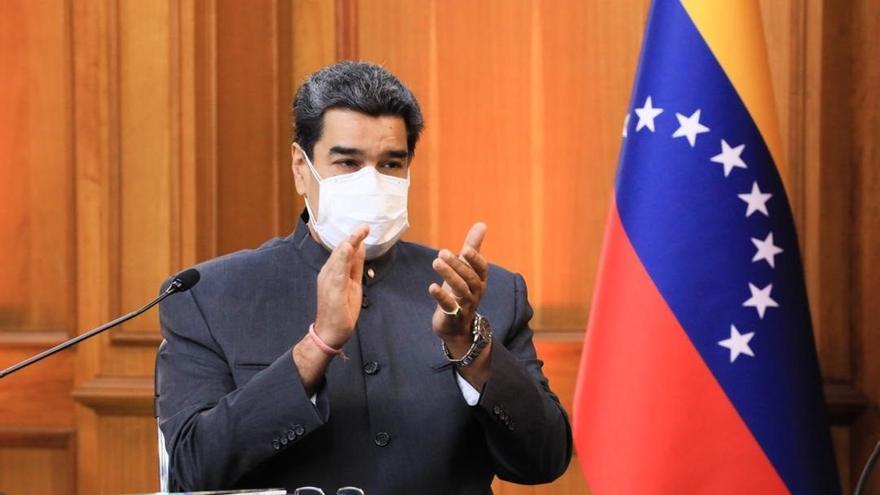 """Maduro se muestra optimista con respecto al diálogo con la """"oposición guaidocista"""""""