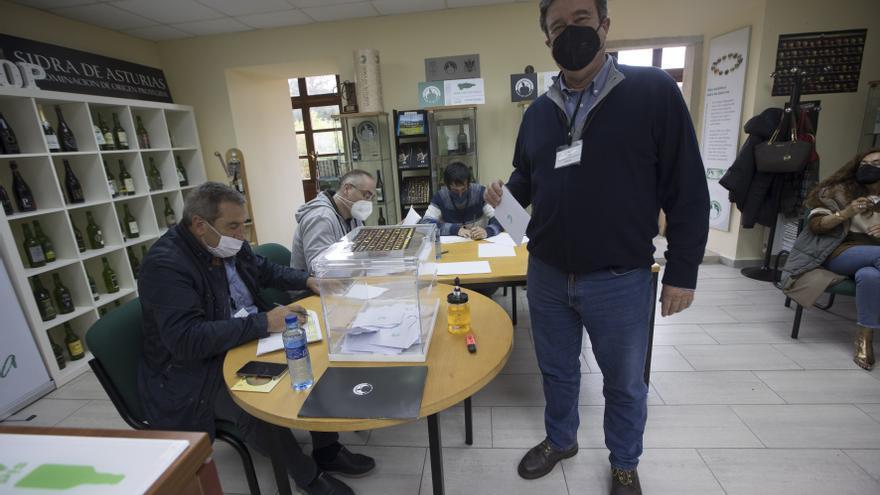 Guillermo Guisasola gana las elecciones al Consejo Regulador de la Sidra