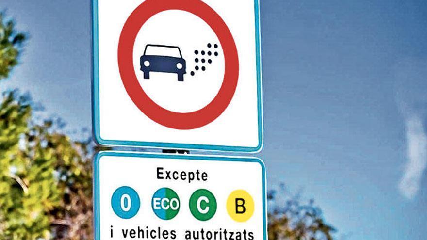 Barcelona hat jetzt eine Umweltzone