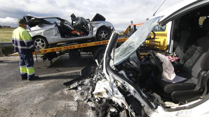 Un fallecido y varios heridos en una colisión múltiple en la carretera de Villarrubia
