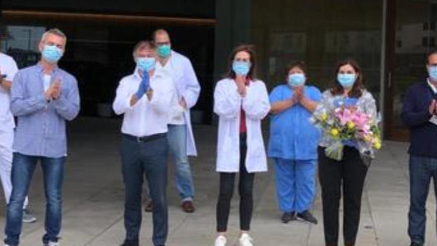 Letzte Covid-19-Patienten verlassen Kongresshotel von Palma